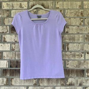 Ann Taylor purple top size M